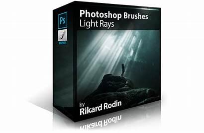 Rays Photoshop Brushes Beam Zevendesign Ray Pack