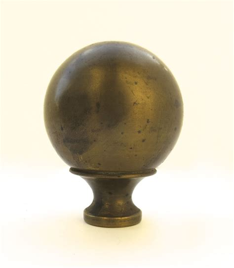 vintage brass l finials pair of vintage brass bed finials from blacktulip on
