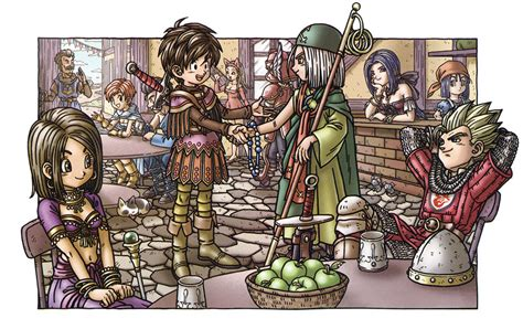 promotional illustration dragon quest ix art gallery