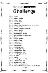 30-Day Drawing Challenge