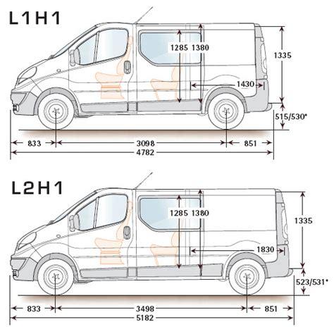 renault trafic dimensions renault trafic 2014 dimensions