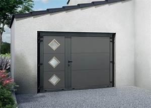 galerie photo fame le specialiste de la porte de garage With porte de garage enroulable et porte intérieure vitrée 2 battants