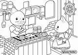 Sylvanian Families Coloriage Restaurant Mer Coloring Bord Colouring Sheets Drawing Colorir Coloriages Dessin Animaux Kitty Animal Desenhos Colorier Ausmalen Malvorlagen sketch template