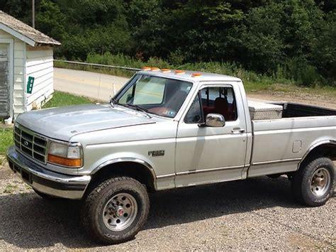 F250 Turbo Diesel Mpg by Buy Used 1993 Ford F250 Turbo Diesel In Adrian