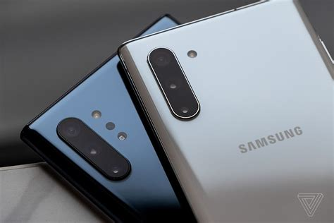 samsung galaxy note 10 two sizes new s pen and dex your laptop the verge