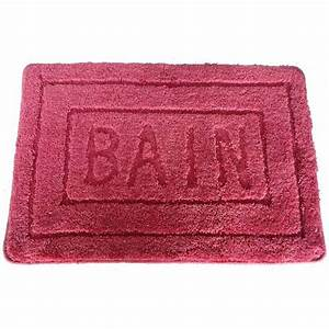 tapis de salle de bain 60x90 ur39bain With tapis de bain massant