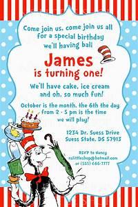 dr seuss birthday invitations wording drevio invitations With dr seuss birthday card template