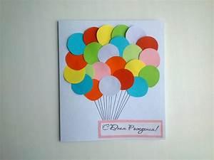 Simple Birthday Paper Card - Handmade Gifts - Paper DIY