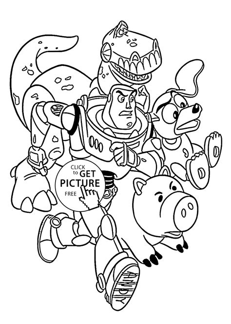 rescue  toy story coloring pages  kids printable