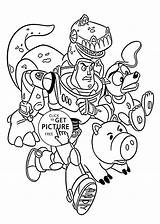 Coloring Toy Story Pages Disney Printable Rescue Cartoon Colouring Cartoons 4kids Sheets Boys Books Adult Children Bo Getcolorings sketch template