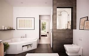Bilder Für Badezimmer : badezimmer bad mit wanne bad mit dusche ~ Sanjose-hotels-ca.com Haus und Dekorationen