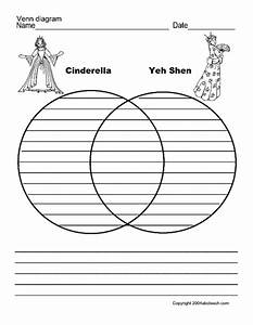Cinderella And Yeh Shen Graphic Organizer For 3rd