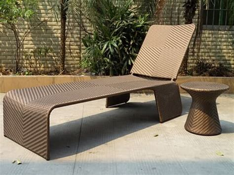 rattan wicker chaise lounge krcs107 outdoor rattan wicker furniture factory outside