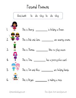 by the stepping stones pronouns pronoun worksheets grammar