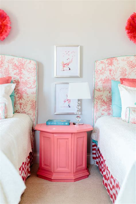anna drakes toddler room upholstered twin headboards