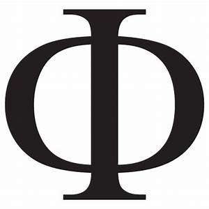 phi uppercase greek letter wall quotestm wall art decal With greek letter wall decals