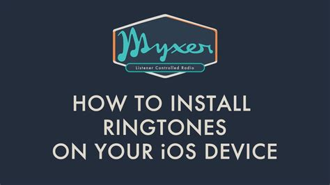 how to put ringtones on iphone how to install ringtones on your ios device iphone