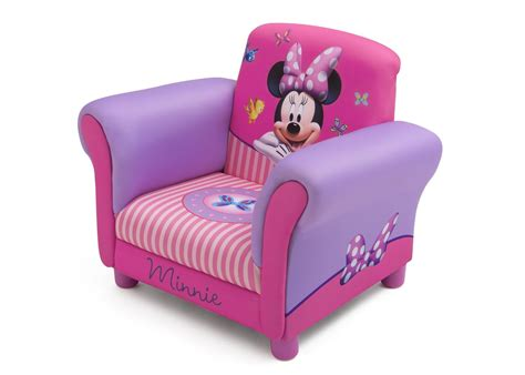 minnie mouse upholstered chair delta children s products