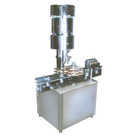 automatic single head vial cap sealing machine duke technologies ahmedabad id