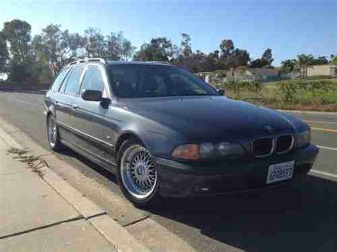 Find Used 2000 Bmw 528i Touring Wagon, High Mileage In