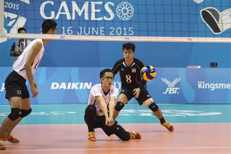 sea games volleyball men singapore fall