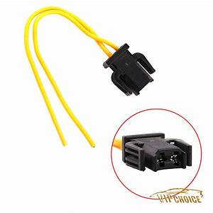 2 Pin Brake Tail Light Wiring Plug Socket Pigtail For Vw