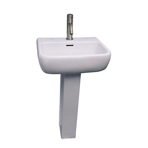 barclay pedestal sink compact 450 barclay products metropolitan 600 pedestal combo bathroom