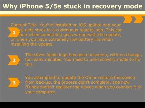 iphone stuck in recovery mode how to fix iphone 5 5s stuck in recovery mode