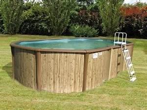 Piscine Hors Sol Resine : kit piscine hors sol acier et r sine sunbay freedom ovale ~ Melissatoandfro.com Idées de Décoration