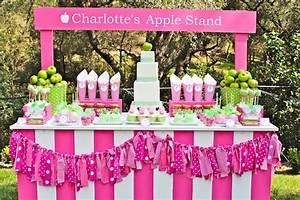 Kara's Party Ideas » Apple of My Eye 6th Birthday Party