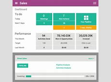 The #1 Open Source CRM Software Odoo