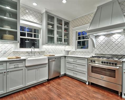 pictures of floor tiles for kitchens arabesque tile houzz 9101