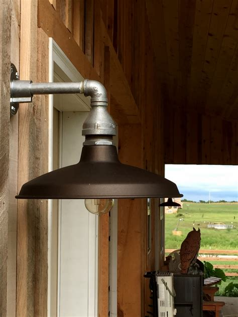Farm Lighting by Featured Customer Barn Lighting Brings Farm Home Back To