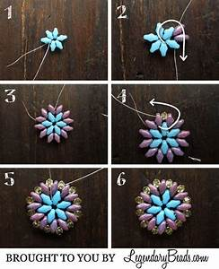 Summer Medallion Instructions Free Bead Jewelry Tutorial