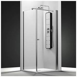 Porte de douche sur mesure castorama maison design for Porte douche sur mesure castorama