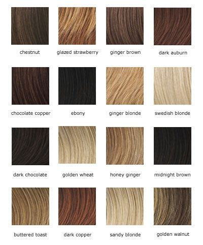 Different Hair Colour Names by The Names Of Hair Colors Hair Color There Are