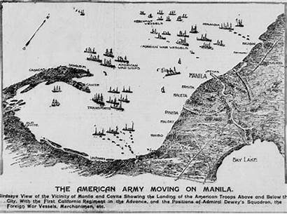 Manila Infantry Arrives July 1898 Troops