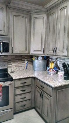 gray distressed kitchen cabinets best 20 glazing cabinets ideas on refinished 3918