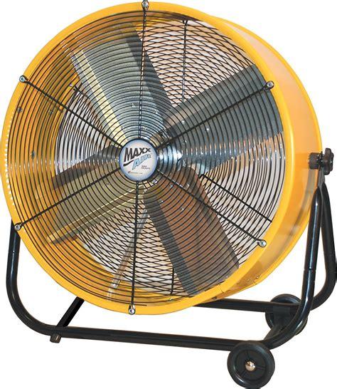 big air 24 drum fan with tilting feature industrial shop fan vent air high velocity garage workshop