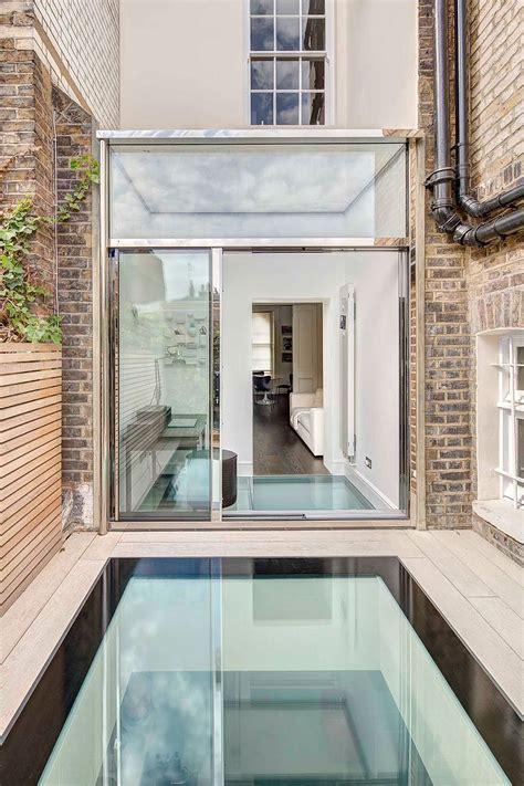 london terrace house  smart extension  walk