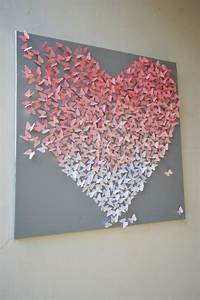 Best ideas about heart wall art on chevron