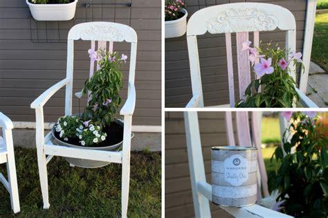 Ausgefallene Und Lustige Ostergeschenke Selber Machen by Diy Blumenstuhl In Shabby Chic Ganz Einfach Selber Machen