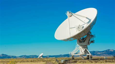 cuisine satellite a satellite dish in lapse against a beautiful