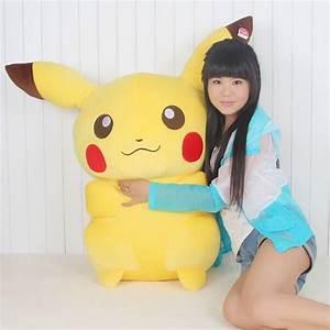 huge Pikachu toy lovely plush pikachu toy big yellow high ...