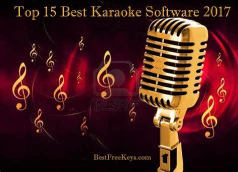 Best Karaoke Player Software 15 Best Karaoke Software 2018 To Sing Karaoke Songs Free