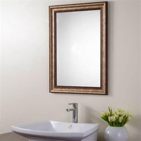 31 Creative Bathroom Mirrors Framed Wood Eyagci