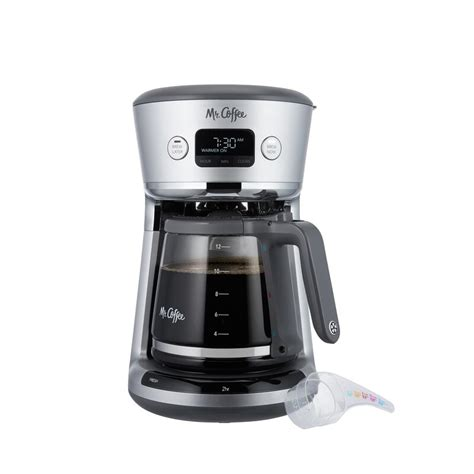 This is a very elegant machine from mr. Mr. Coffee Easy Measure 12 Cup Programmable Coffee Maker & Reviews | Wayfair