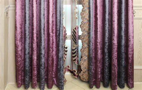 Plum Floral Luxury Velvet Thermal Purple And Gray Curtains Curved Tension Shower Curtain Rod Chrome Gray Blackout Curtains 108 Good Quality Rods 100 Silk Sheer Black Rings With Hooks Fabric Calculator Pencil Pleat Fluted Wood Top 2016