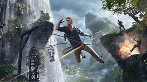uncharted, 4, , a, thiefs, end, , playstation, 4, , video, games