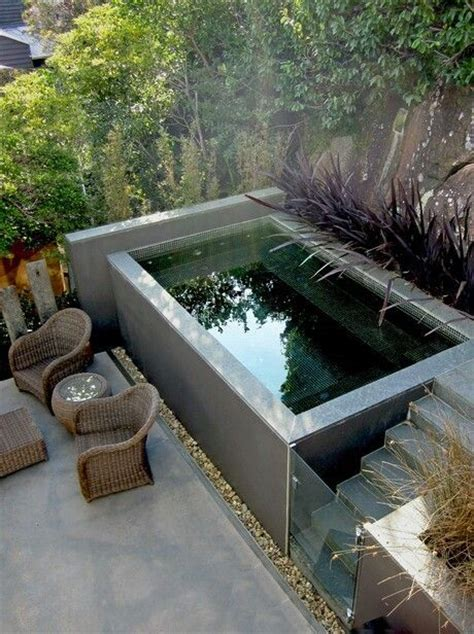 Small Above Ground Pools For Small Backyards by 29 Small Plunge Pools To Suit Any Sized Backyard And Budget